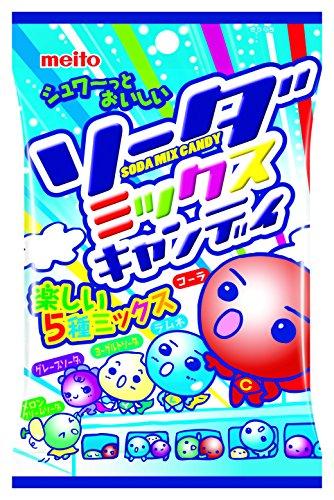 名糖産業 ソーダミックスキャンディ 90g×10袋