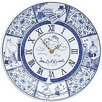 moomin × amabro SOMETSUKE CLOCK TIME GOES ON アマブロ ソメツケ クロック [ ブルー ]