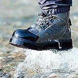 NeyGu磯靴ウェーディングシューズ ゴム底 穴抜き付き 渓流釣り 磯用 沢登り保温防寒 滑り止め