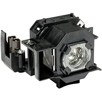 EMP-TWD1 EMP-TW20H Supermait EP33 A MovieMate 25 EMP-S3 Fit for EMP-TW20 EMP-TWD3 Quality Replacement Projector Lamp with Housing Compatible with Elplp33 PowerLite Home 20 EMP-S3L