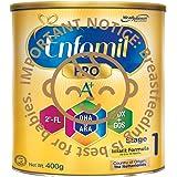 Enfamil Pro A+ Stage 1 PWD Infant Milk Formula, 0-12 months, 400g