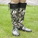 [日本野鳥の会] Wild Bird Society of Japan バードウォッチング長靴 S(24.0cm) カモフラージュ柄