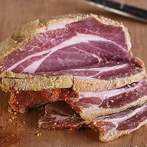 (砂糖不使用・無添加)バックベーコン(Back Bacon) ブロック/塩漬け豚肉 (ギフト対応) 【販売元:The Meat Guy(ミートガイ)】