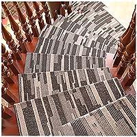 LSF-階段マット HJH- 5個 階段マット、階段踏面、階段パッド、耐久性、滑り止め、非汚染、接着剤は洗浄後に失敗せず、階段に糊跡はありません。 (Color : Color 6, Size : 100*24*3cm)