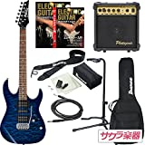 Ibanez アイバニーズ エレキギター GIO Ibanez GRX70QA/TBB ギター入門スタンダードアンプセット