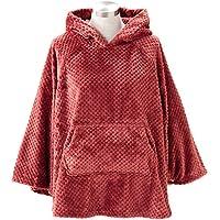 着る毛布 ルームウェア フード付き 長袖 静電気防止加工 蓄熱効果 洗える 着丈67cm マルサラ FRRP-01