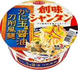 サンヨー食品 創味シャンタン かに玉風醤油 刀削風麺 85g×12個