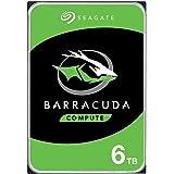 Seagate Barracuda 6TB Internal Hard Drive HDD – 3.5 Inch SATA 6 Gb/s 5400 RPM 256MB Cache for Computer Desktop PC (ST6000DM00