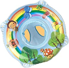 赤ちゃんスイミングリング、赤ちゃんインフレータブルシート、赤ちゃんのための安全なPVC水泳支援、美しい蜂の絵画のデザイン22 * 22インチ