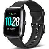 "Blackview Smart Watch for Android Phones and iOS Phones, All-Day Activity Tracker with Heart Rate Sleep Monitor, 1.3"" Full To"