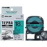 キングジム テープカートリッジ テプラPRO キレイにはがせるラベル 18mm 緑 SC18GE