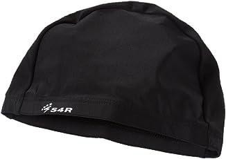 S4R (エスフォーアール) ゆったりスイムキャップ 締め付けを軽減させた楽々設計 男性にも女性にも使えるフリーサイズ