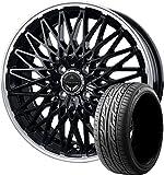 サマータイヤ・ホイール 1本セット 15インチ GOODYEAR(グッドイヤー)イーグルLS2000ハイブリットII 165/55R15 75V + ロクサーニ パヴォーネ(ブラック)