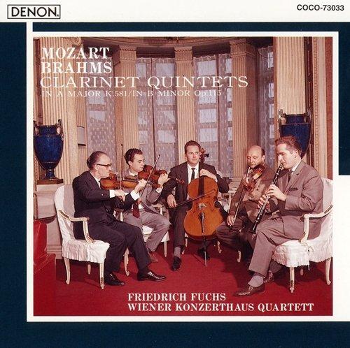 モーツァルト/ブラームス:クラリネット五重奏曲...