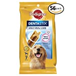 PEDIGREE DENTASTIX Large Dog Dental Treats, 56 Count