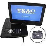 "TEAC 10.1"" Portable DVD Player   Swivel Screen   Carry Bag w Car Adaptor   Earphones INC.   USB, SD, MMC Playback  Plus Remot"