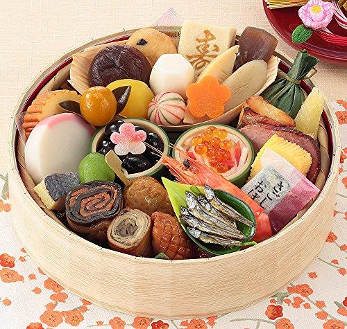 京菜味のむら おせち「花籠一段」 31品 (一人前)(12月30日着)