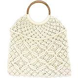 [ルミニーオ] luminio トートバッグ レディース 編みバッグ マクラメ編み 人気 おしゃれ 9バリエーション