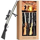 Sniper Rifle Gun-Shape Ballpoint Pen – 0.7mm Medium Point,Blue Ink,Writing Pen Office School Supply Students Stationery Kids