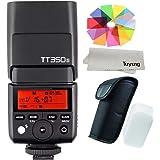【正規品 技適マーク付き日本語説明書付】Godox Thinklite TTL TT350S ミニカメラフラッシュ高速1 / 8000s GN36 ソニーミラーレス DSLR カメラ A77II A6000 A6500 RX10 シリーズ
