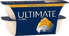 Danone Ultimate Golden Honey Yoghurt, 115g (Pack of 4) - Chilled