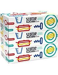 スコッティ キッチンタオル ボックス 150枚(75組) 3箱パック