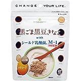 黒ごま黒豆きなこ with シールド乳酸菌M-1 100g×3袋