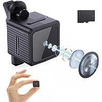 FamBrow 小型カメラ 隠しカメラ 【32GBカード付き クリップ式】 1920*1080P 録音録画 静止画撮影…