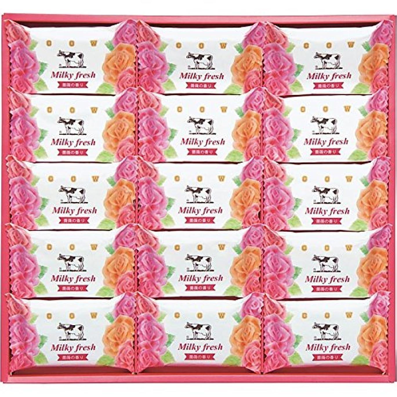 飾り羽光電お気に入り(牛乳石鹸) ミルキィフレッシュセット (835-1058r)