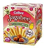 カルビー Jagabee 紀州の梅味 80g(16g×5袋)×12個
