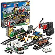 Lego 60198 City Cargo Remote Control Train Building Set (1226 Pieces)