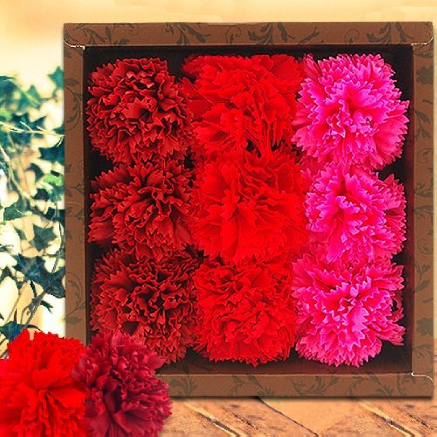 慎重デジタル遅れフラワーフレグランス(Carnation/Red)