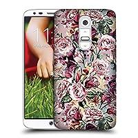 オフィシャルRiza Peker フローラルVIII フラワーズ2 ハードバックケース LG G2 / D800 / D802 / D801