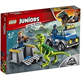 LEGO® Juniors Jurassic World Raptor Rescue Truck 10757 Playset Toy