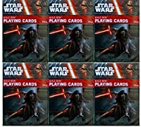 STAR WARS : THE FORCE AWAKENS KYLO REN Playing Cards 6-deckセットby Cartamundi