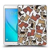 Head Case Designs ノーフォークテリア ドッグブリード・パターン 14 Samsung Galaxy Tab A 9.7 専用ソフトジェルケース