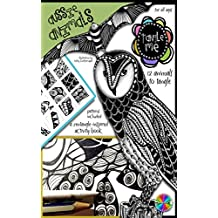 Tangle Me - Aussie Animals: A Zentangle-inspired Art Activity Book for All Ages