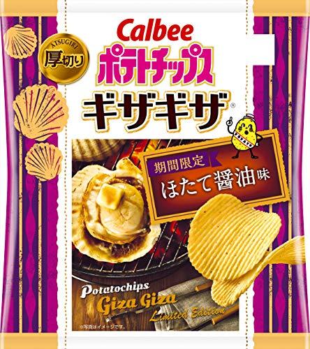 ポテトチップス ギザギザ ほたて醤油味 12袋