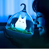 WOMHOPE Children's Night Lights Hand-held Design Touch Sensor Vibration Cage Lamp Night Lights - Charging - for Kids Baby Val