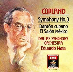 Symphony 3 / Danzon Cubano / El Salon Mexico