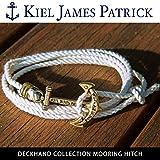 (キールジェイムスパトリック)KIEL JAMES PATRICK ロープ ブレスレット DECKHAND COLLECTION/MOORING HITCH/DC-1567-100 kjp-078