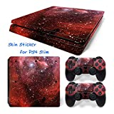 Hzjundasi 638# Body Sticker Decal Skin ステッカーデカールスキン For Playstation 4 PS4 Slim Console+Controllers
