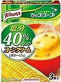 クノール カップスープ コーンクリーム塩分40%カット 54.6g ×10個