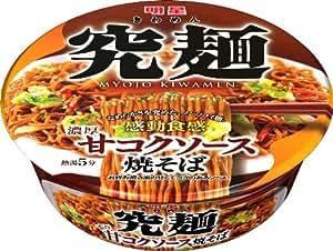 明星 究麺 甘コクソース焼そば 119g×12個