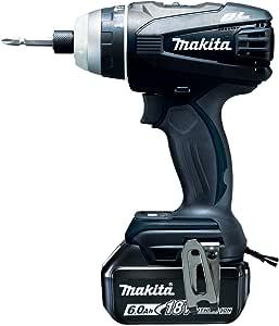 マキタ 4モード・インパクトドライバTP141(18V)黒 トルク150Nm  6Ahバッテリ2本・充電器付 TP141DRGXB