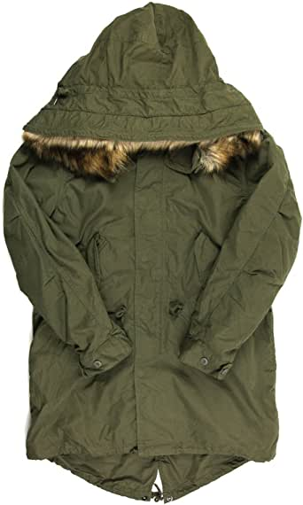 (アビレックス) AVIREX アヴィレックス M-65 フィールド モッズ パーカ コート ジャケット モッズコート ファー付 メンズ 6162165
