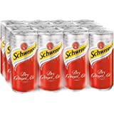 Schweppes Dry Ginger Ale, 12 x 320ml