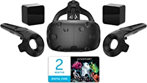 HTC Vive - Next-generation Virtual Reality Gaming Headset 3D Monitor (US Version, Imported)