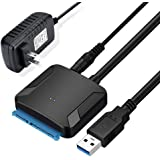 SATA-USB変換アダプター 2.5/3.5インチ HDD SSD用 Amtake SATA3 USB3.0変換ケーブ…