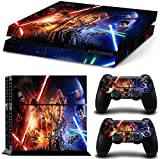 FreeSticker? PLAYSTATION 4 Designer Skin Game Console System 2 Controller Decal Vinyl Protective Stickers Sony PS4 - STAR WARS SPACE FORCE ALL EPISODES [並行輸入品]